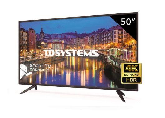 Td Systems K50dlh8us Televisor Led 50 Pulgadas Ultra Hd 4k Smart