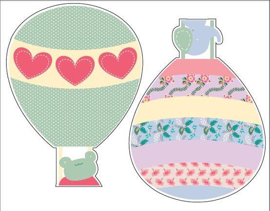 Globos aerostaticos nenas vinilos pinterest for Vinilos para nenas