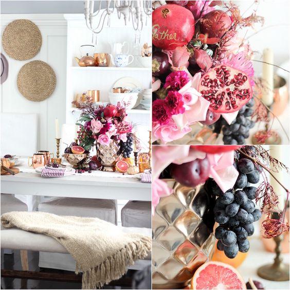 ... inspirantes moindre détail table automne idées inspirantes