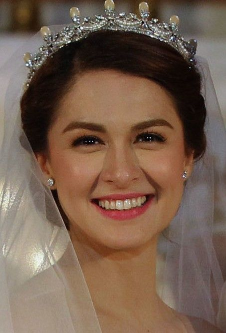 Marian Rivera S Wedding Makeup Look Marian Rivera Celebrity Wedding Makeup Marian Rivera Wedding
