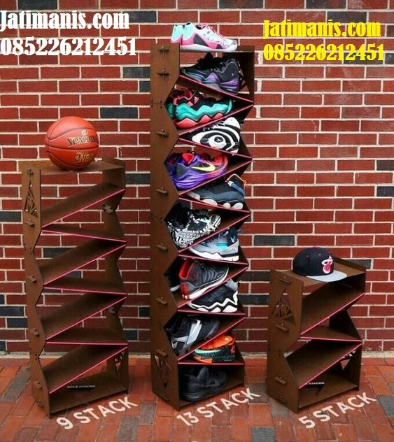 Rak Sepatu Susun Kayu Jati Rak Sepatu Susun Rak Sepatu Rak