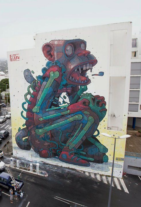 Graffiti Art magazine, Reunion Island (ST Denis)