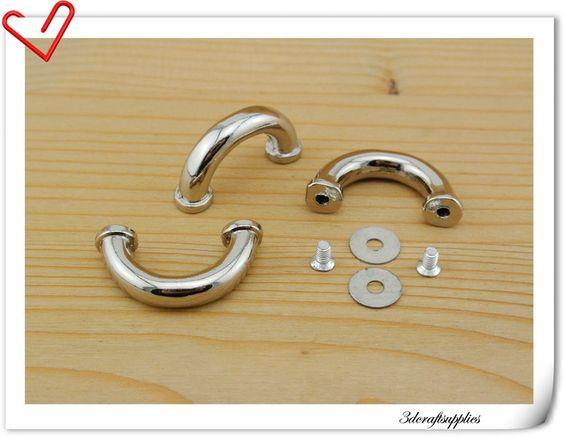 8+x+16mm+Silber+Bogenbrücke+Schnalle+i39+von+3DCraftsupplies++auf+DaWanda.com