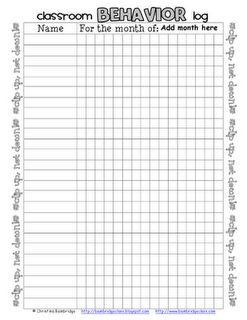 Clip Chart Check List