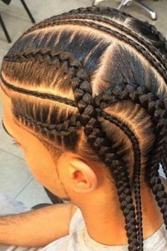 Hacemos Trenzas Boy Braids Hairstyles Mens Braids Hairstyles Cornrow Hairstyles For Men