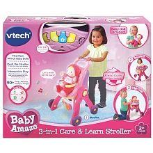 Vtech - Baby Amaze - Ma poussette 3 en 1 interactive - Édition anglaise