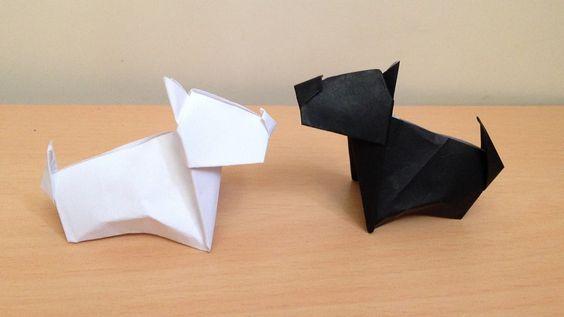 ハート 折り紙 折り紙 犬 簡単 : jp.pinterest.com