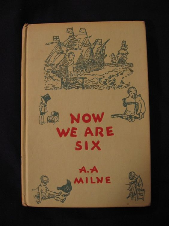 Vintage Winnie The Pooh Book by AA Milne by luvbabycakes81 on Etsy, $15.00