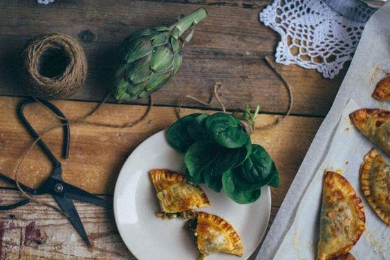 Empanadillas de espinacas y queso : via La Chimenea de las Hadas