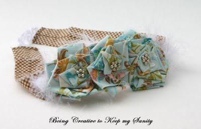 Tutorial on folding flowers