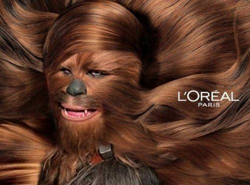 Chewbacca Loreal PARIS | Picture Of The DAY | Pinterest ...