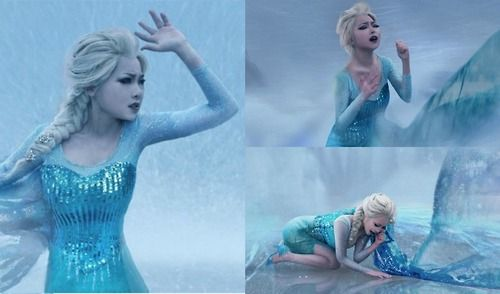 Whoa, she's an amazing cosplayer! The best I've ever seen! #Frozen #cosplay