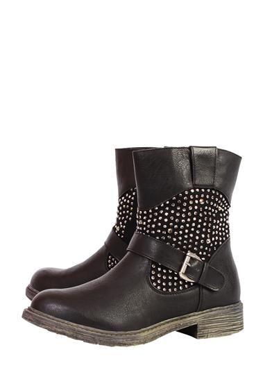 Analpa Keddo Biker Boots were £68.50 NOW £19.99 at StylistPick