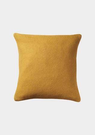 felted wool cushion
