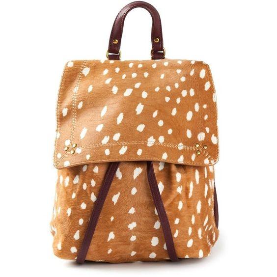 Jérôme Dreyfuss Florent Backpack (£420) ❤ liked on Polyvore featuring bags, backpacks, backpack, detachable backpack, leather flap backpack, leather backpack, drawstring flap backpack and leather drawstring bag