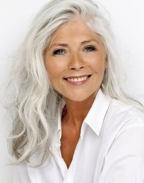 Beautiful Hairstyles For Women Over 50 Long Hair Fashion Blog Over50fashion2017 Long Gray Hair Long Hair Styles Hair Styles