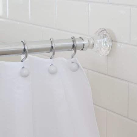 Splash Home Olena Neverrust Aluminum Constant Tension Bathroom