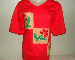 Camiseta - Flores  4