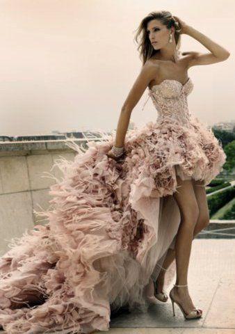 vestidos de noiva rosa - Pesquisa Google