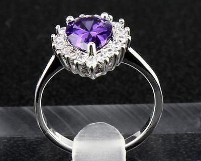 #jewelry Fine 14KT Solid Yellow Gold Pear cut 3.36ct natural tanzanite&Diamond Ring 6.5# please retweet