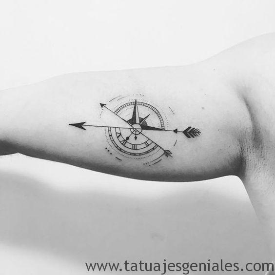 70 Imagenes De Tatuajes De Brujulas Con Significados Tatuajes