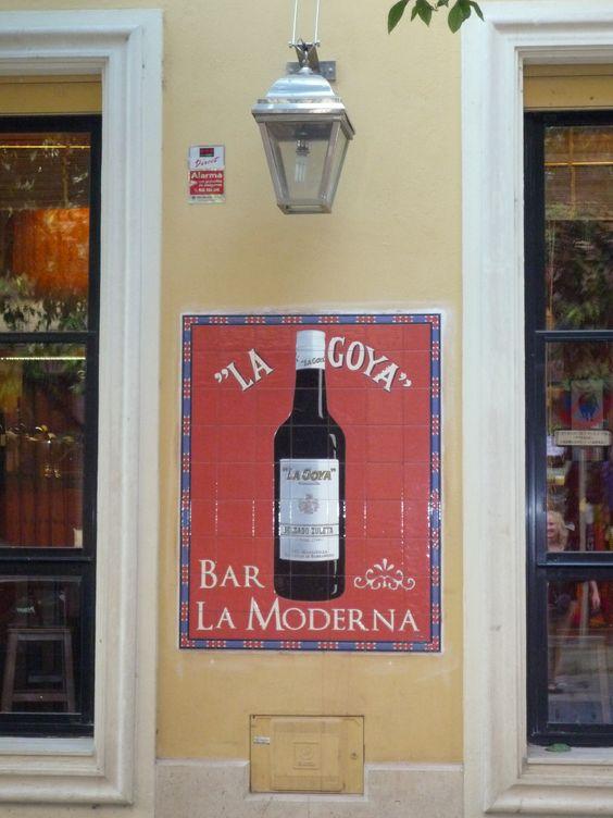 Bar in Málaga