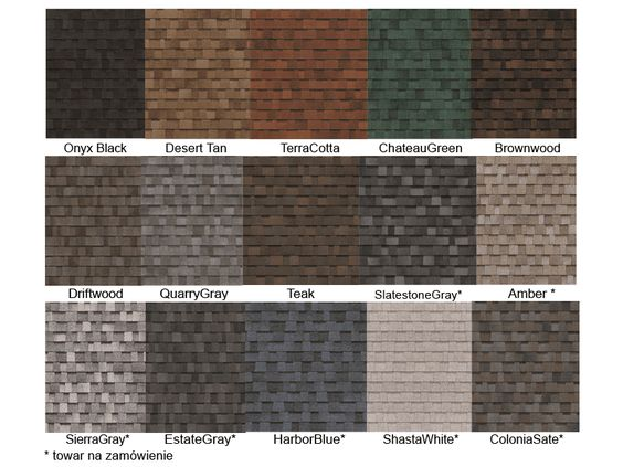 Best Architectural Shingles Shingle Colors And Colors On Pinterest 640 x 480