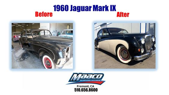 Come in today for a free estimate! 44201 S. Grimmer Blvd., Fremont, Ca, 94538 510.656.8600 #Jaguar #MAACOVER #Recondition #MaacoFremont #AutoPaint #CollisionRepair #Maaco #PaintRecondition #CarPaint #PaintJob #BodyRepair #Fremont