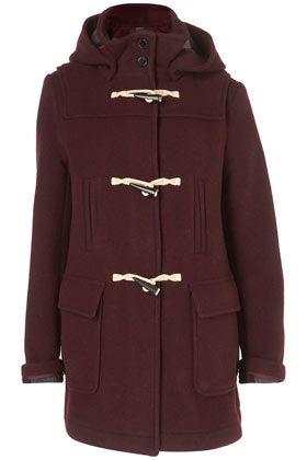 Bound Seam Duffle Coat