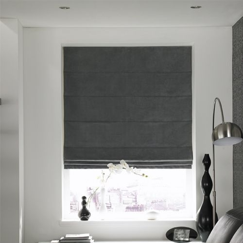 3 Intelligent Clever Ideas: Grey Roller Blinds blackout