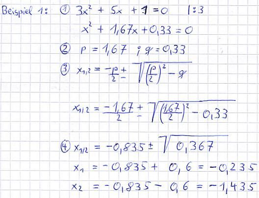 Nullstellen Berechnen Mathe Abitur Gleichungen Mathematik