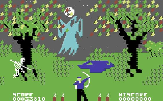 C64 Forbidden Forest