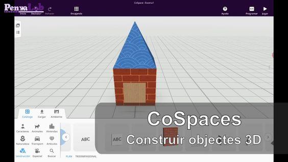 CoSpaces – Construir objectes 3D