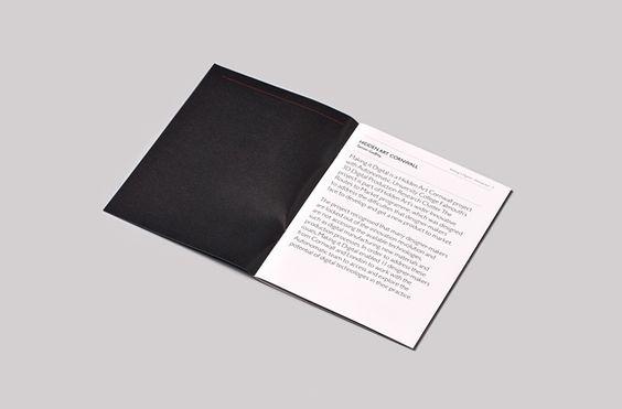 Exhibition Catalogue, spread