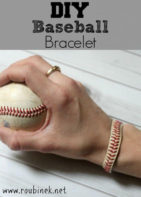 diy baseball bracelet diy superstars