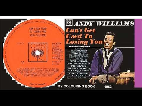 Andy Williams My Colouring Book Vinyl Andy Williams Coloring Books Books