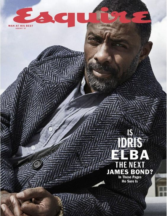 Idris Elba for Esquire US (subscriber cover)  - August 2017