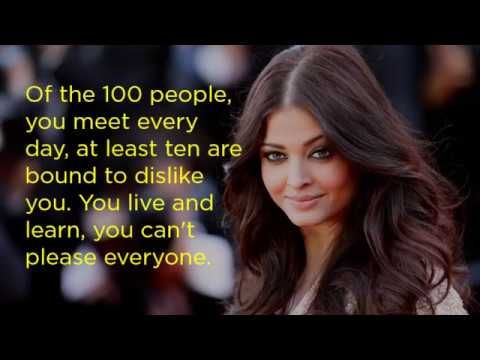 10 Inspiring Quotes By Aishwarya Rai Video Inspirational Quotes Hd Quotes Success Quotes