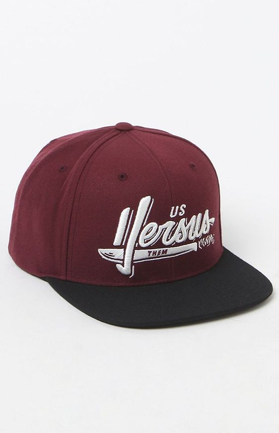 Sliced Snapback Hat