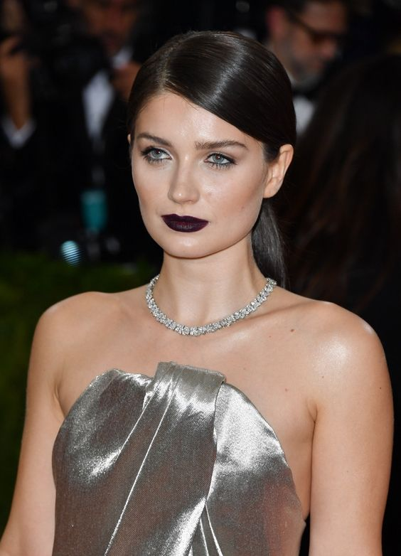 Eve Hewson no baile do Met 2016.: