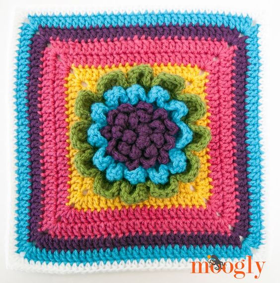 Block #11 for the 2015 Moogly Afghan Crochet Along! All ...
