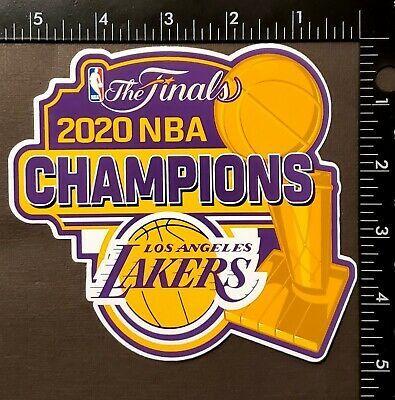 Los Angeles Lakers 2020 Nba Final Champions 5 5 X 5 Vinyl Sticker Ebay In 2020 Los Angeles Lakers Nba Finals Nba