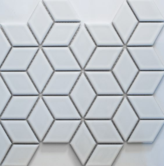 academy tiles ceramic mosaic diamond mosaic 83408