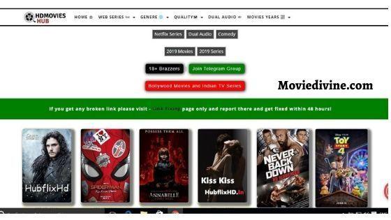 Hubflix 2020 Bollywood Hollywood Hd 300mb Movies Free Download Tvnews63 In 2020 Free Movies Movies Free Movie Downloads