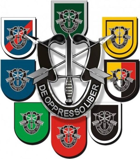 To Free The Oppressed Military Special Forces Special Forces Special Forces Logo