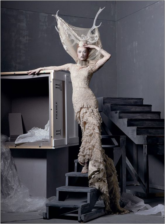 "Alexander McQueen ""Savage Beauty"" Collection... makes me horny."
