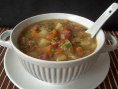 Receita de Sopa de lentilha - Tudo Gostoso