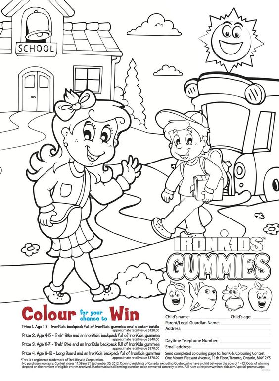 Colouring Contest with Todays Parent Magazine! Enter Soon. Contest closes Sept 30th!