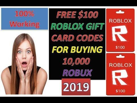 Free Robux 2019 How To Get Free Roblox Gift Card Robux Redeem Card
