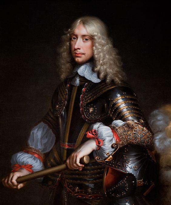 Portrait de François de Vendôme, duc de Beaufort, 1649 Jean Nocret: